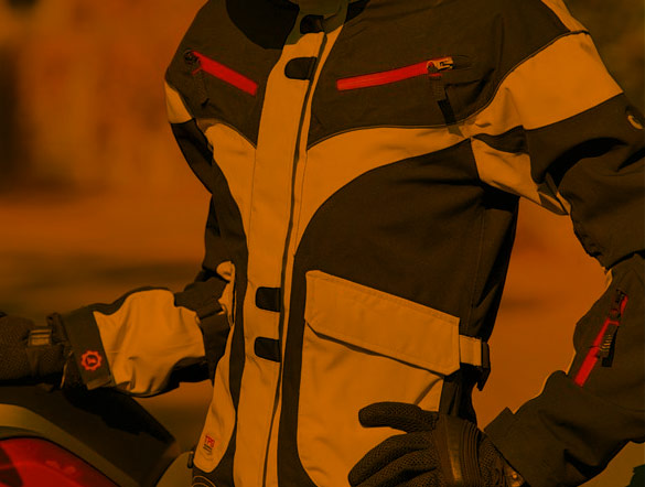 Motorcycle Textile Jackets For Men